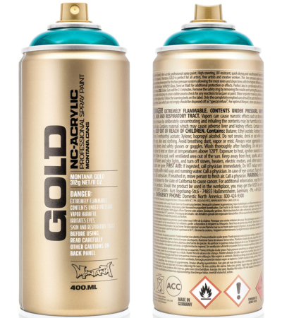 Montana Gold 400ml Transparent