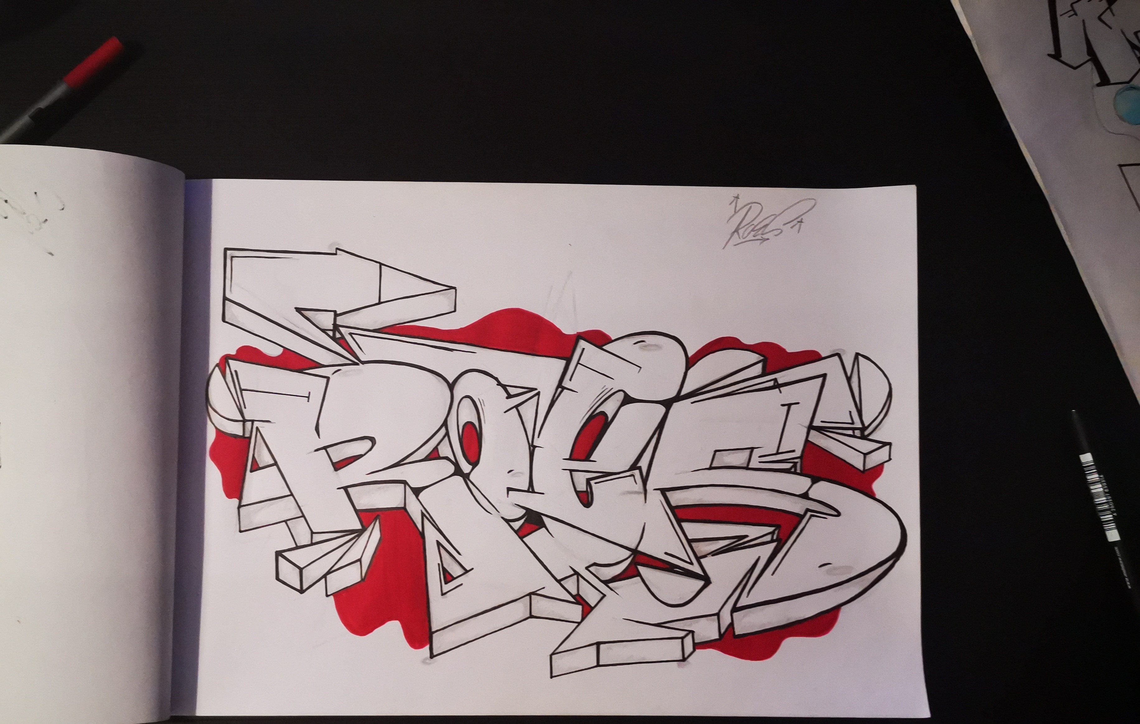 Roes Sketch